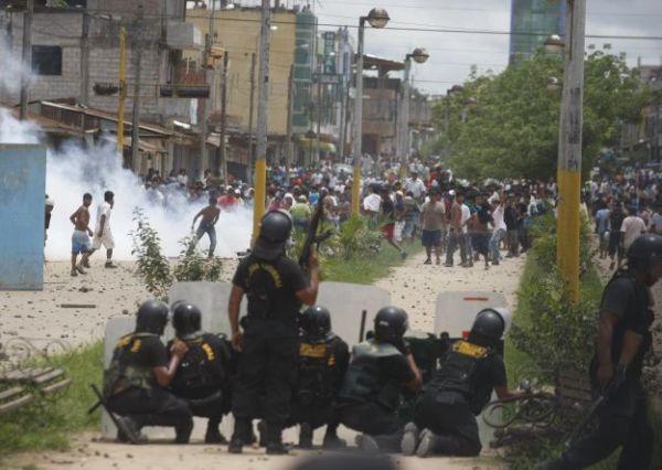 2012 paro street conflict USI