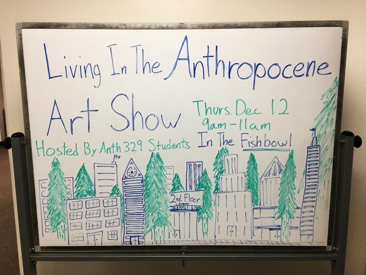 Anthropocene art show